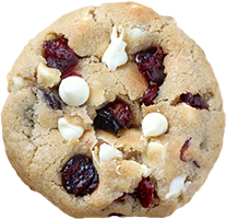 Holiday Cookies: White Chocolate Cranberry Cookies
