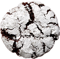 Holiday Cookies: Chocolate Peppermint Crinkle