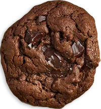 Holiday Cookies: Double Chocolate with Chunks