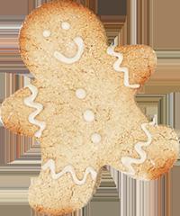 Holiday Cookies: Gluten-Free Gingerbread Men