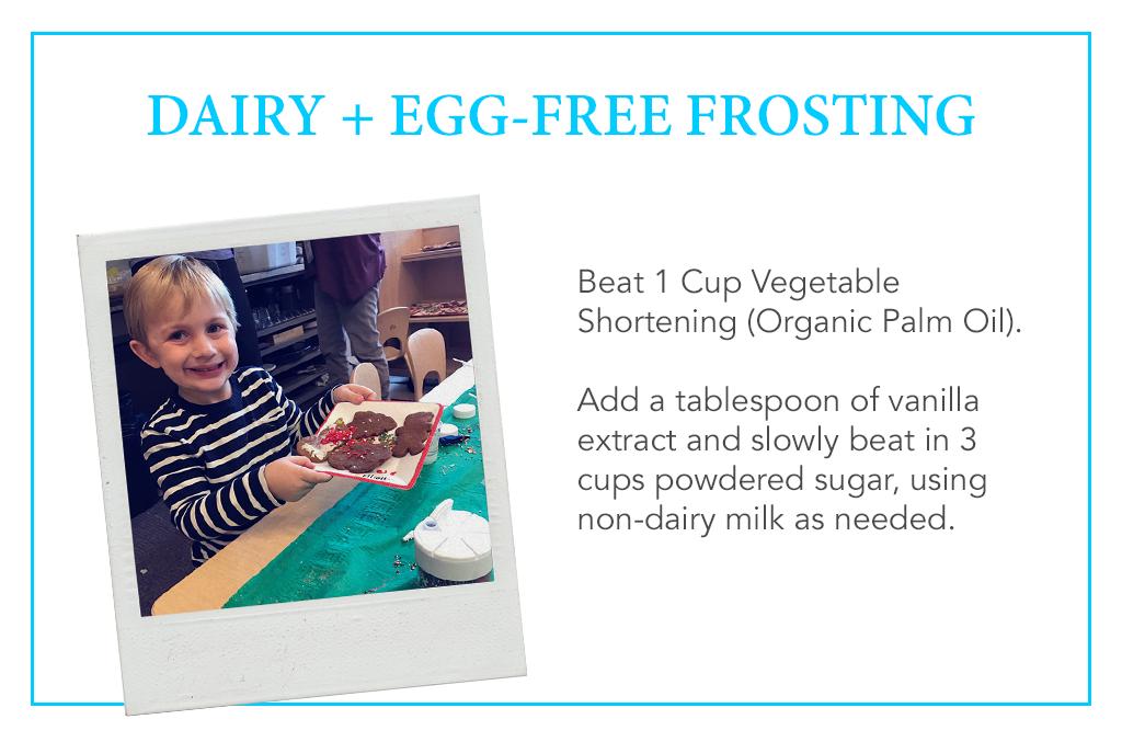 Dairy and Egg-Free Frosting Jennifer Keller