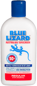 Blue Lizard food allergy friendly sunscreen