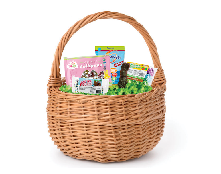 allergy-safe easter candy basket