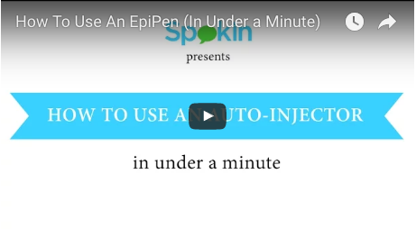 auto-injector video tutorials
