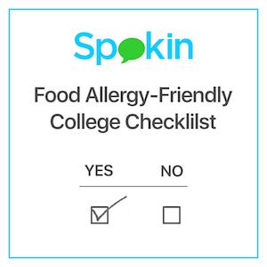Food Allergy-Friendly College Checklist