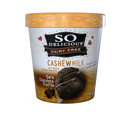 dark chocolate truffle so delicious cashew milk
