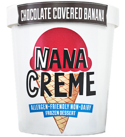 nana creme chocolate covered banana