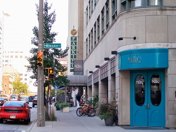 PHOTO CREDIT: CATHY STANLEY-ERICKSON /  Milwaukee City Guide Hotel Metro