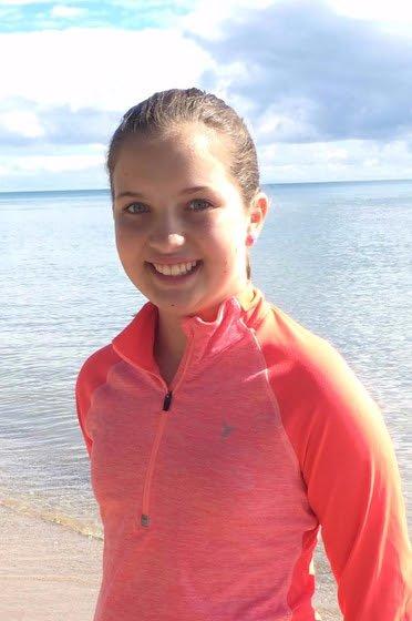 Natalie teen with food allergies
