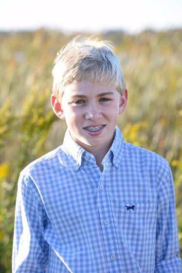 Jack teen with food allergies