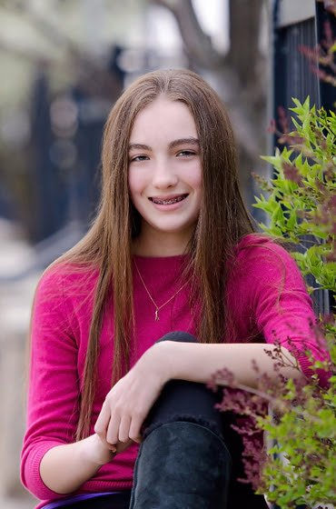 Susan teen with food allergies