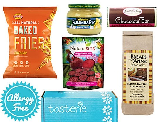 Tasterie Food Allergy-Friendly Box Delivery