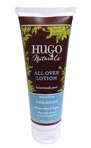 hugo naturals food allergy friendly lotion