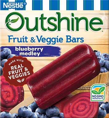 food allergy friendly blueberry outshine popsicles