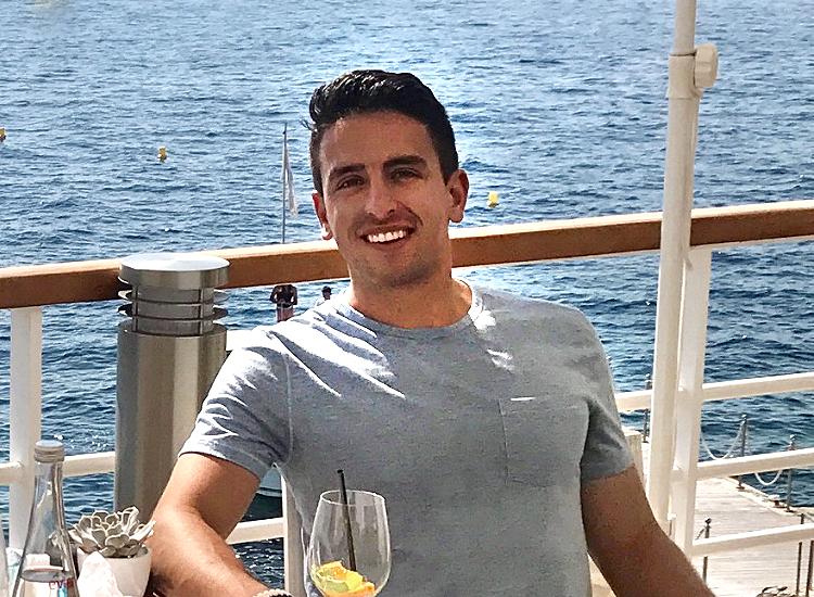 Josh in Monaco, France