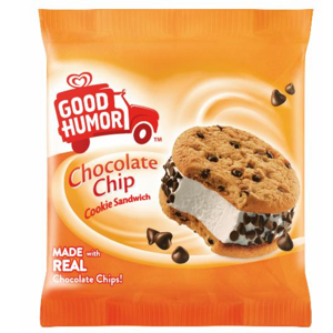 Good Humor Chocolate Chip Cookie Ice Cream Sandwich.png
