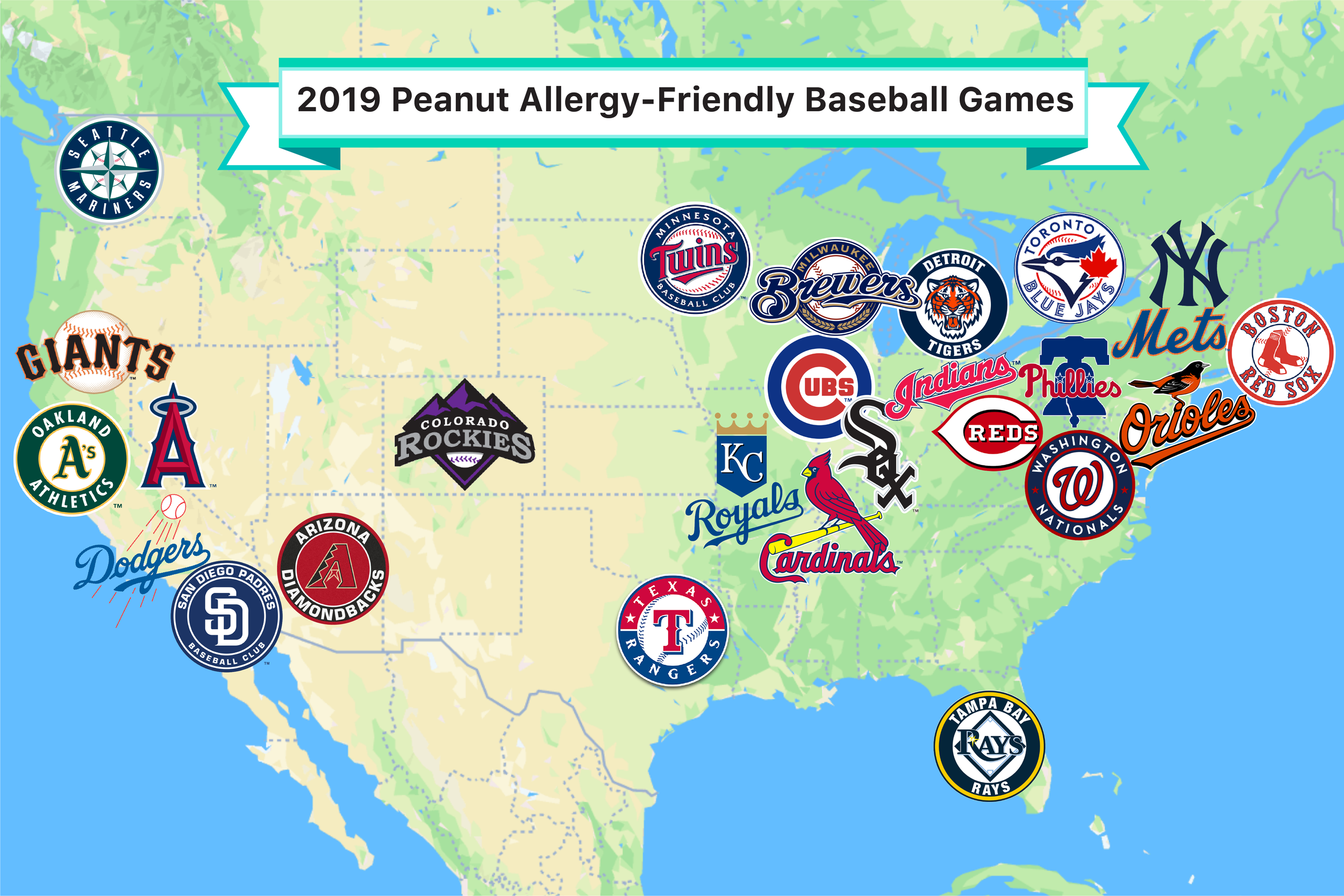 2019 Peanut Allergy-Friendly Baseball Games — SPOKIN - The Easiest on