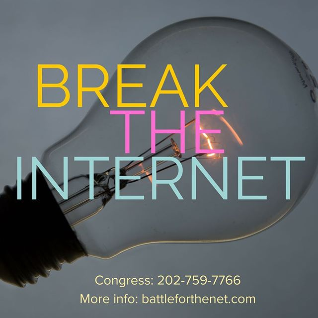 Enjoy the free flow of #information and #ideas?  Me too.⠀ ⠀ Small online #businessowner who'd be *totally* shafted by the big guys if they're calling the shots?  Me too.⠀ ⠀ Care about your #firstamendment rights?  Me too.⠀ ⠀ #netneutrality dies tomorrow unless we fight to stop it.⠀ ⠀ Call Congress: Call Congress now: 202-759-7766 | go to battleforthenet.com⠀ ⠀ Pass it on. #breaktheinternet
