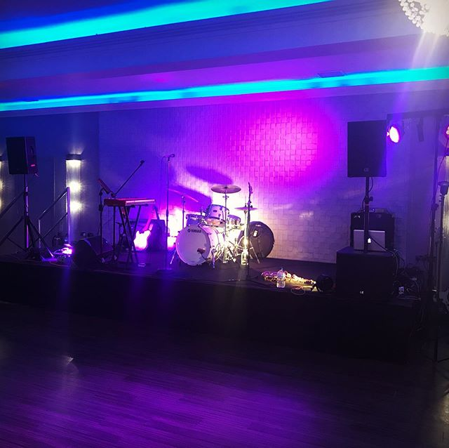 Ready for Sophie and Luke! #weddingband #cheshire #theprovocateurs