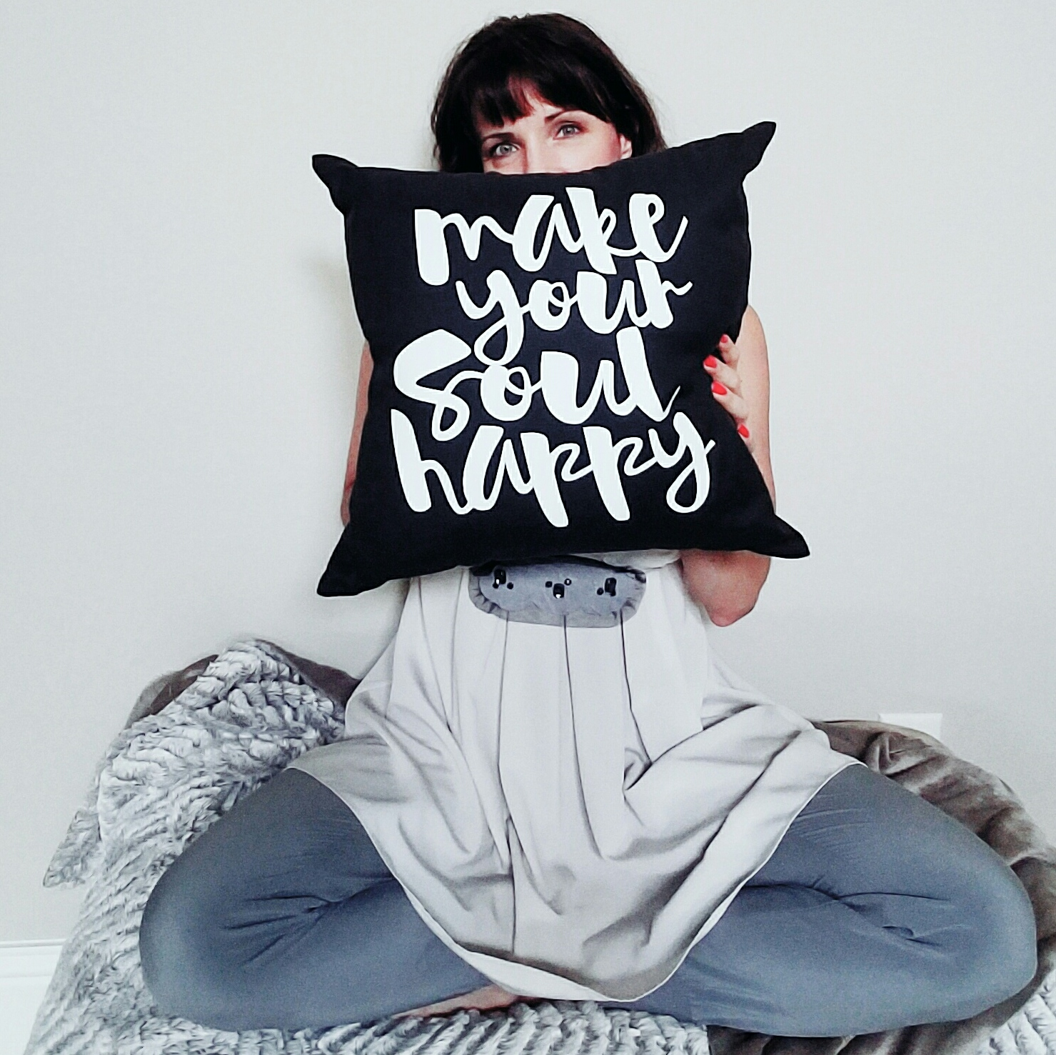 Copy of Make Your Soul Happy Pillow