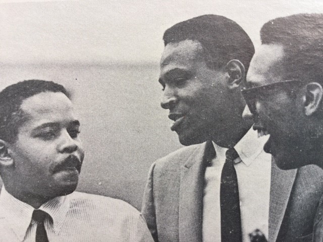 Marc Gordon (left) with Marvin Gaye and arranger Gene Page