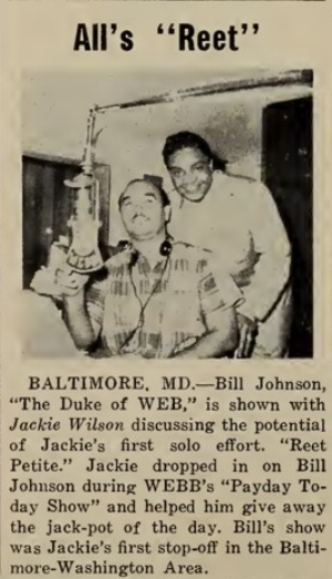 Jackie Wilson hits the promotion trail