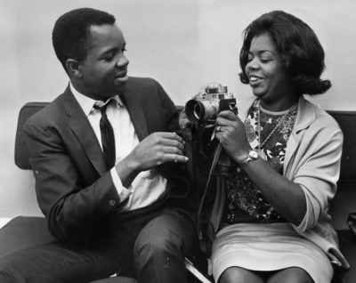 Berry Gordy and Esther Edwards