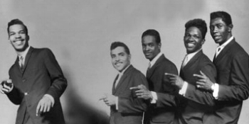 The Satintones with Robert Bateman (first right)