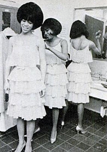 The Supremes prep for their next TV appearance