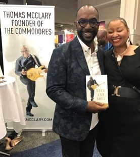 Thomas McClary today, with a fan