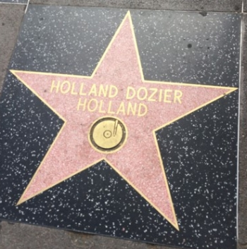 On Hollywood's Walk of Fame