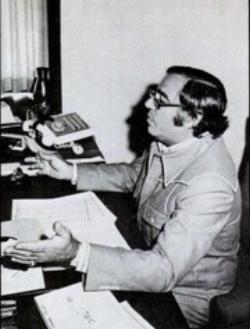 The late Russ Regan in 1971