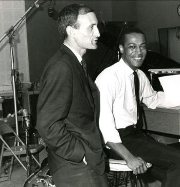 Pierre Berjot with Johnny Pate