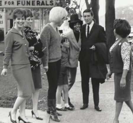Tony Hall at Hitsville U.S.A., October 1965