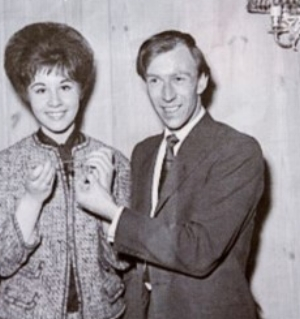 John Schroeder with Helen Shapiro