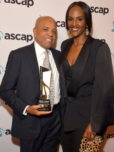 Awarded by ASCAP: the chairman and Ethiopia (photo: Lester Cohen/Getty Images)