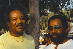Clarence and Freddie Gorman, 1988 (photo: Larry Buford)