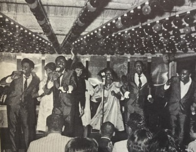 Four Tops and guests, on the Upper Deck