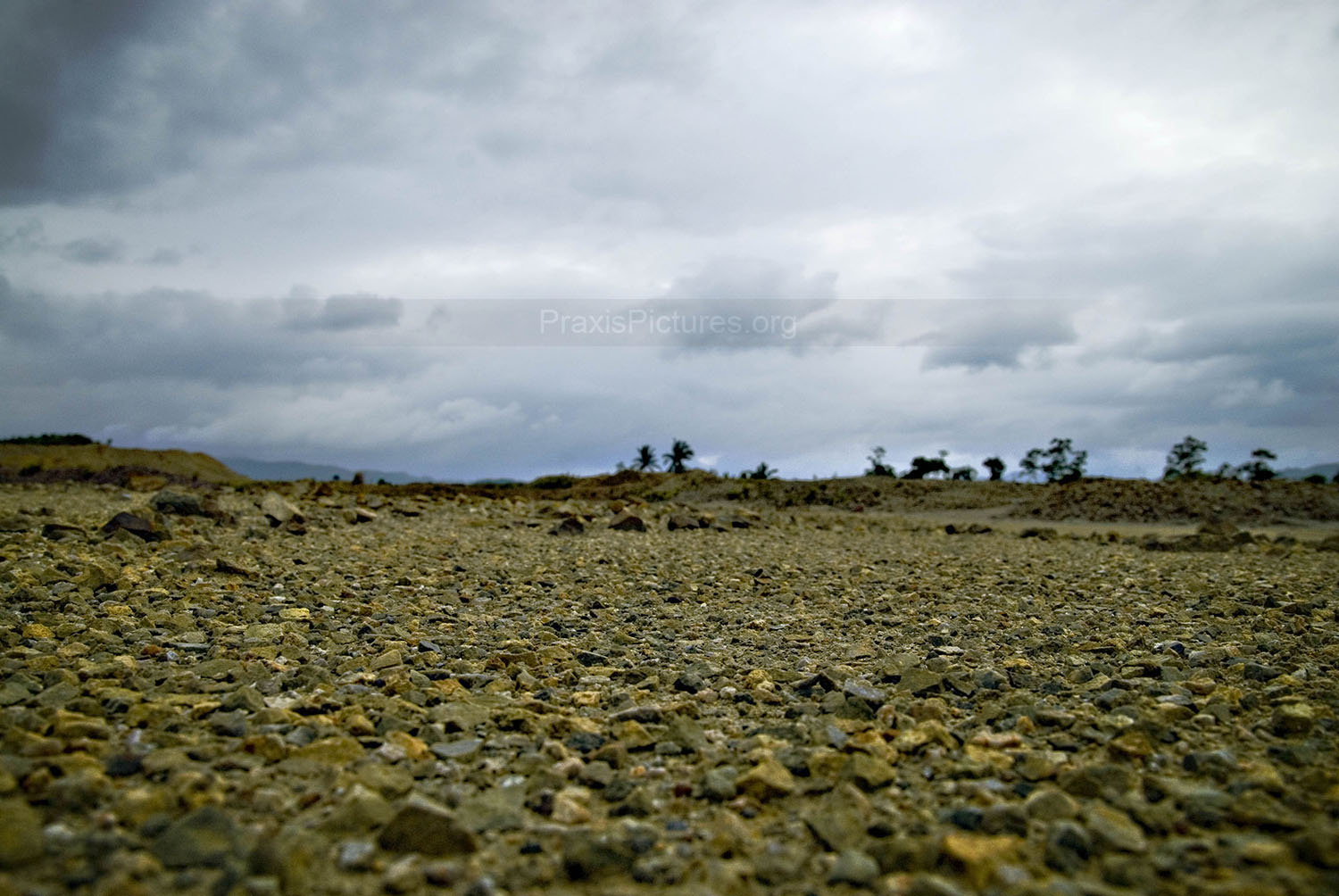 Scorched earth in Marinduque, Philippines.
