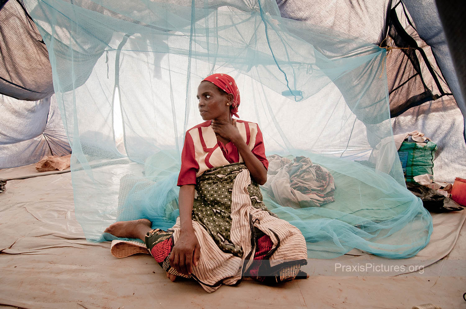 "MWAJUMA - All 258 of the villagers were dumped in a one-room abandoned building in the middle of the night one year ago. The Christian Council of Tanzania and Norwegian Church Aid heard about their situation and have provided the group with the tents they now call home.  In an interview with the Norwegian Church Aid, Faida Gerald says,  ""we have lost a lot of things including our sense of belonging, clothes and other household materials. What hurts most is that they buried even already harvested crops, which we would have sold to get some income to buy food and take care of our children.""   Their sense of loss is intensified by their feelings of betrayal by their own democratically elected government, as Faida contemplates;  ""I wonder what they have given to the government to subject us to all this."""