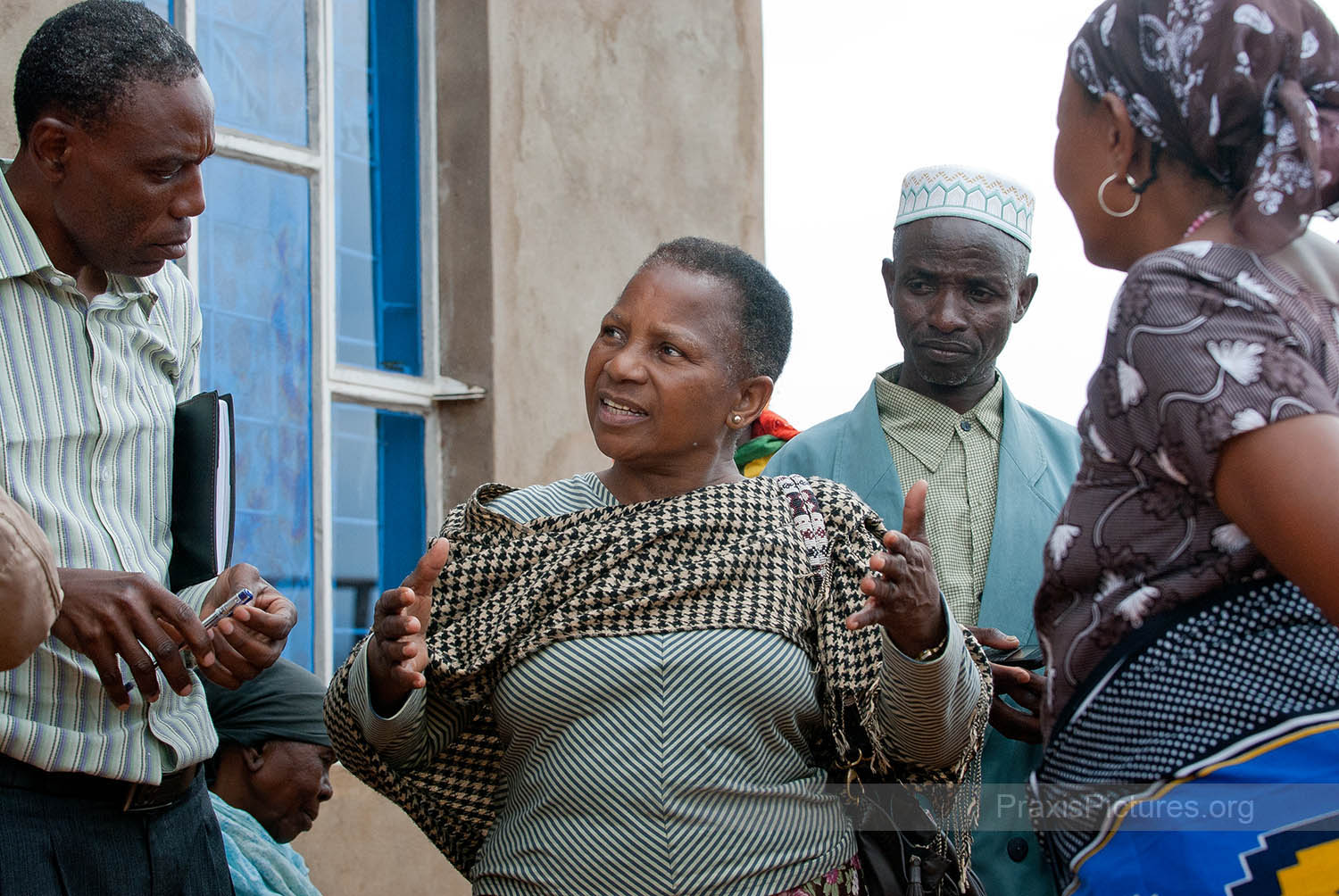 ELIZABETH - Elizabeth is a VICOBA facilitator in Arusha, who helps new VICOBA groups get started. VICOBA is structured in such a way that people are organized in groups and trained in various skills to build up their capacity to provide for themselves.