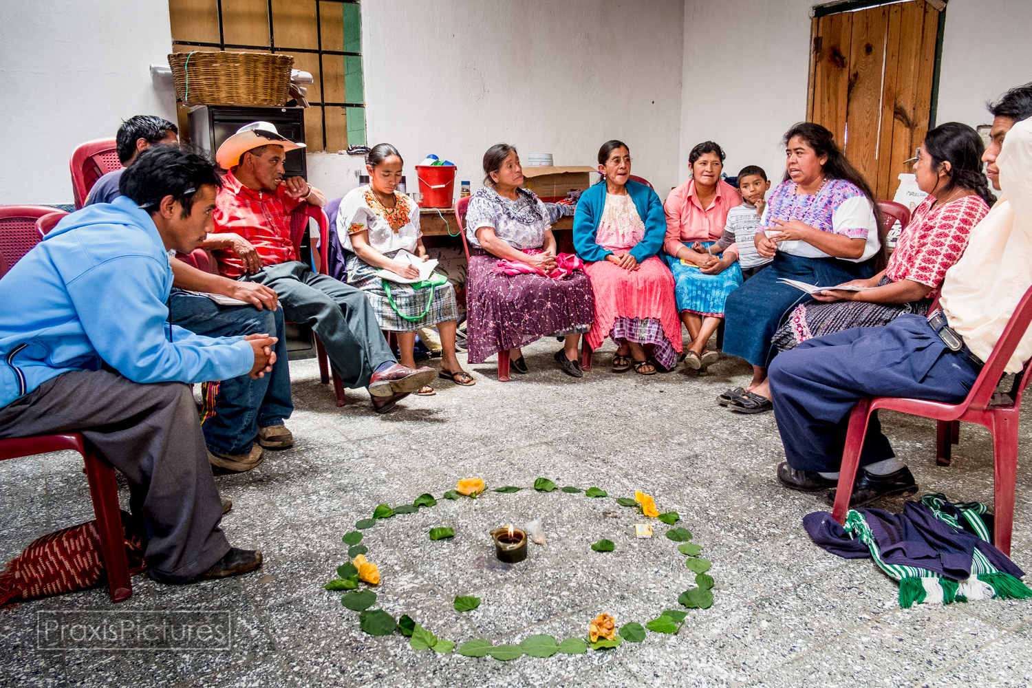 The Health Tribunal project was initiated by community members of San Miguel Ixtahuacán following participation in a community-based health project.  Preliminary findings of this research indicate that community members' health has been threatened by the local Marlin Mine, a subsidiary operation of Canadian company Goldcorp,