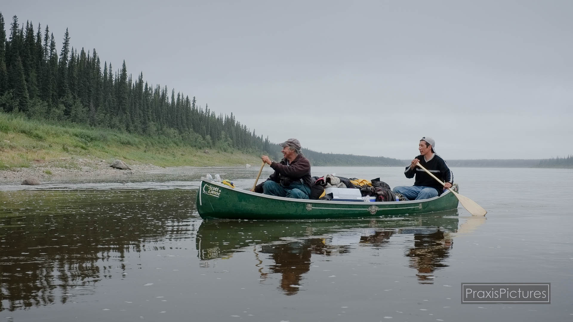 THE BREATHING LANDS  (Video)    The Elders of Kitchenuhmaykoosib Inninuwug First Nation say the water flows through their blood, and their bodies are built of the trout that swim in these clean rivers and lakes.   Taking care of their watershed is a relationship at the core of who they are as an Indigenous Nation, it is a responsibility handed down to them from the Creator through the teachings of their Elders.   (28:26 minutes)
