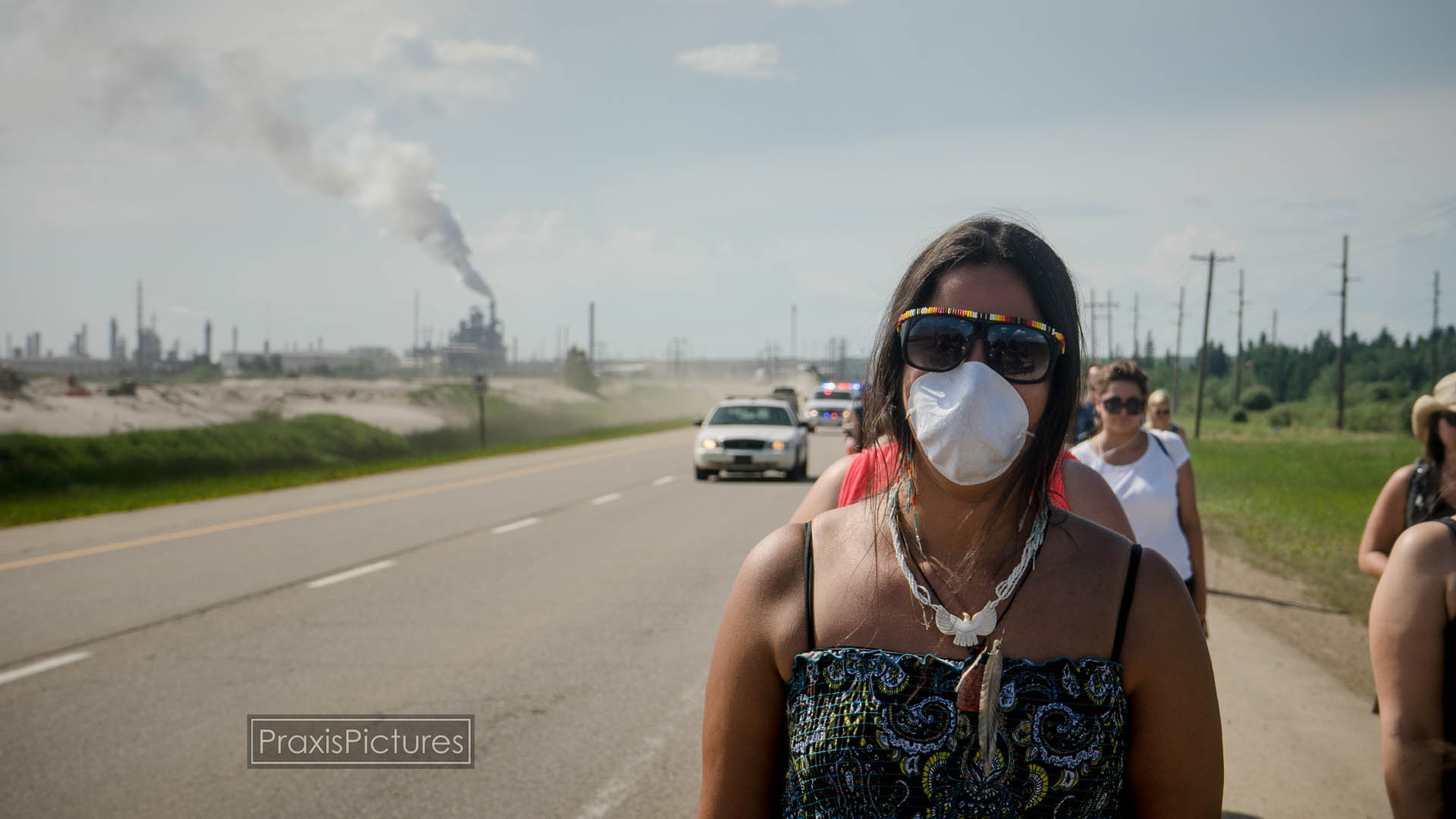 TAR SANDS HEALING WALK  (Video)    July 2014. At the Tar Sands Healing Walk, Elder Taz Bouchier talks about the impacts of the Tar Sands on Indigenous people in the Athabasca watershed. The walk covered 14 kilometres along Highway 63, where it loops around the Syncrude site, just north of Fort McMurray.   (4:48 minutes)