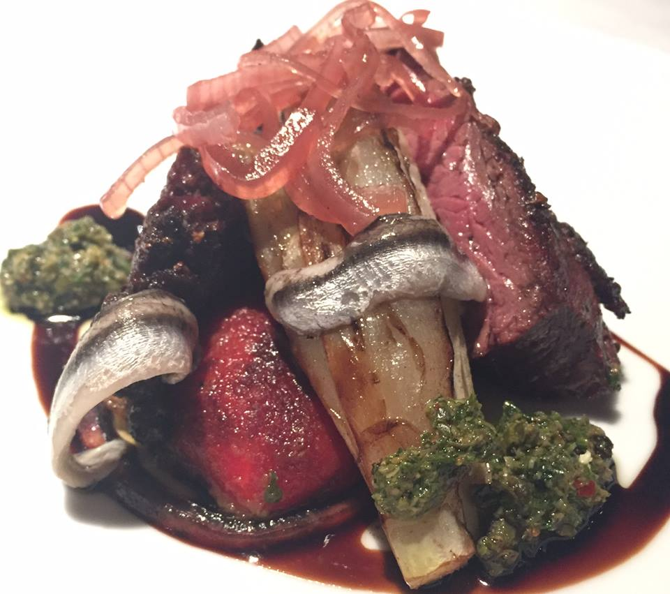 I love anchovies, but they sent this dish over the edge. Proof is at its best when restraint and ambition are on equal footing--which is most of the time.