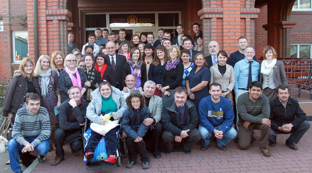 Integration of people with disabities into churches conference 2014
