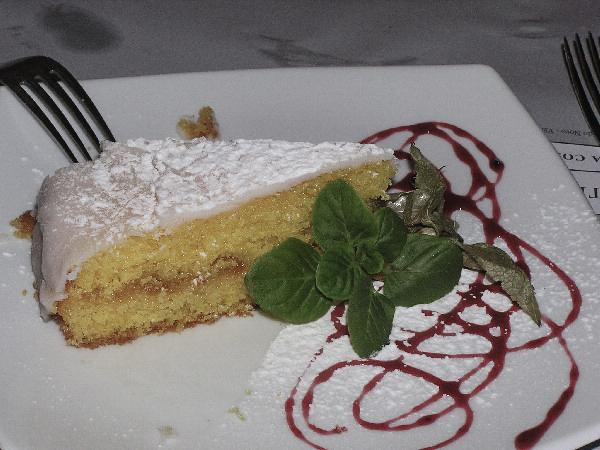 Light Lemon Torte
