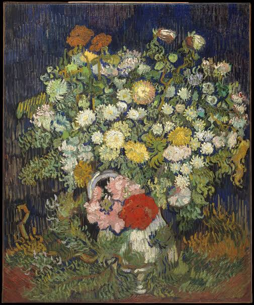 Bouquet of Flowers in a Vase, Van Gogh (Photo: The Metropolitan Museum of Art)