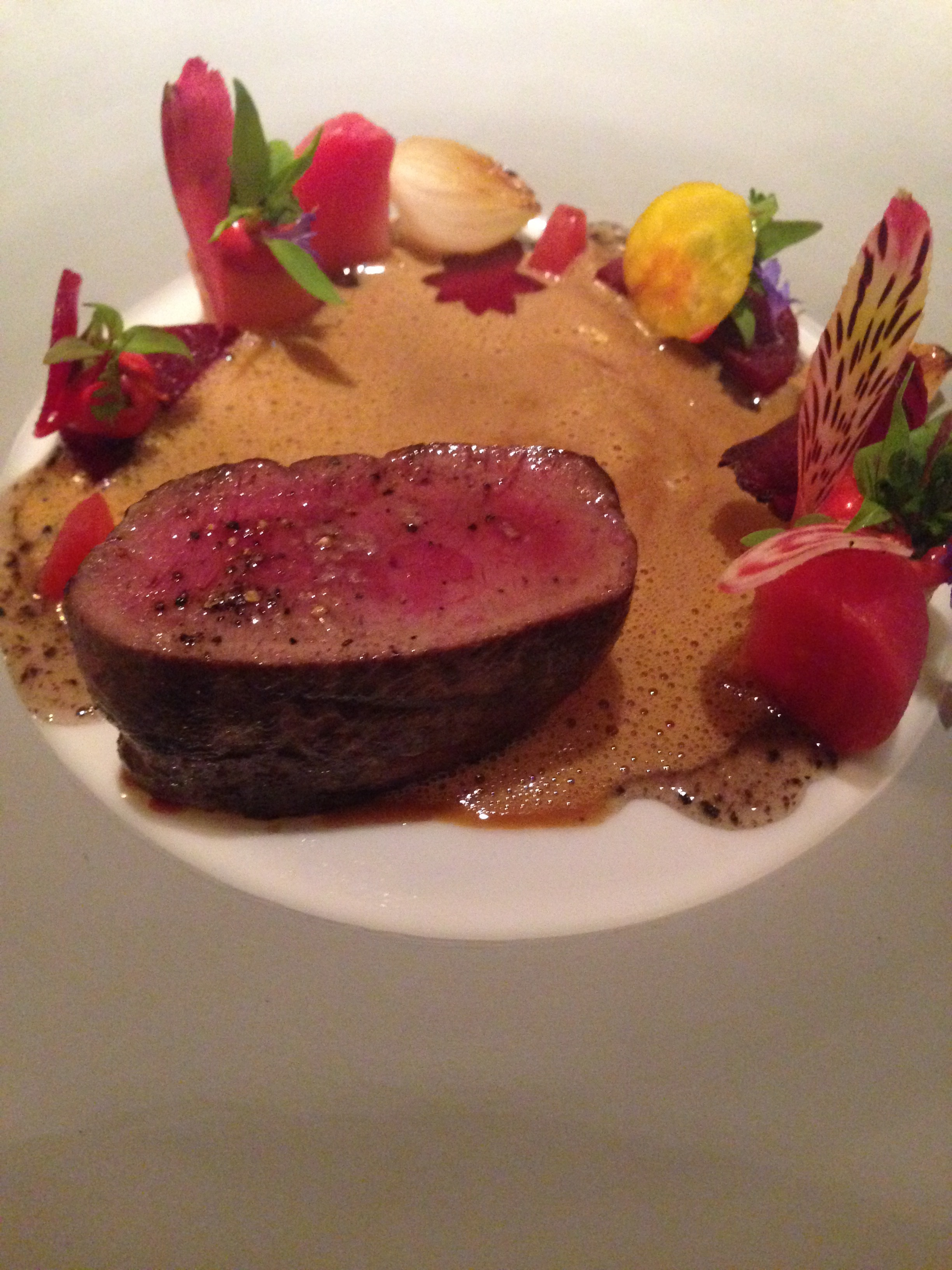 Thoughts on New German Cuisine and a recent dinner