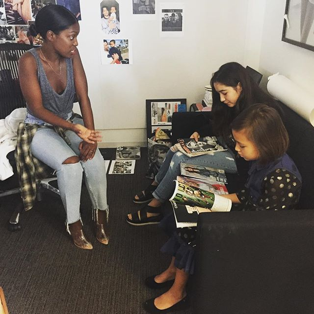 I got to tell @rajni_jacques @teenvogue all about @tigerlightscreative ❤️❤️😘😘 #visciouswomen